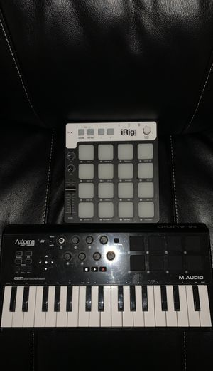 MIDI KEYBOARD AND DRUM PAD FOR MAKING MUSIC for Sale in Philadelphia, PA