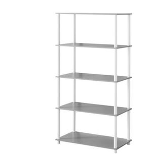 8-cube shelving storage Unit. Grey for Sale in Columbus, OH