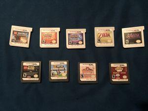 Nintendo Game cards 5 3DS 4 regular for Sale in LA, US