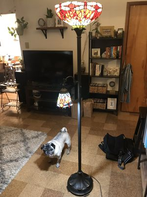 HD Design Tiffany style floor lamp for Sale in Portland, OR