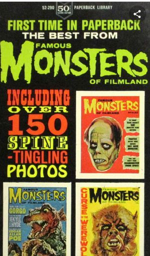 Impossibe Find!! All three famous monsters paperbacks! the best of famous monsters of filmland! Son of FM, and FM Strikes Back! for Sale in Byrnes Mill, MO