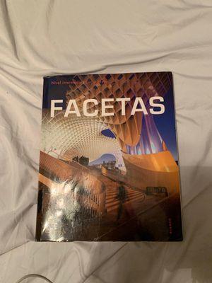 Facetas book for Sale in Dallas, TX