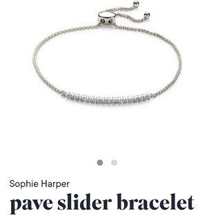 New Sophie Harper Pave Slider Bracelet for Sale in Prairieville, LA