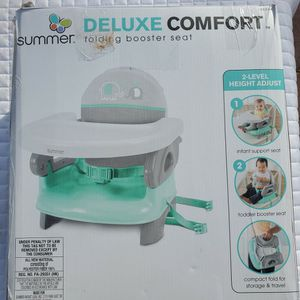 $20 SUMMER DELUX COMFORT FOLDING BOOSTER SEAT for Sale in North Las Vegas, NV