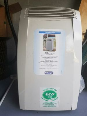 delonghi portable air conditioner. 10,000 BTU for Sale in Salt Lake City, UT