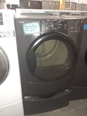 Kenmore elite fron load electric dryer in exelent condition for Sale in Baltimore, MD