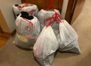 6 Bags full of Shoes and Clothes .All for 70$ for Sale in Houston, TX