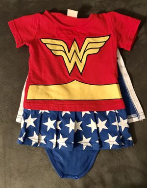 Wonder Woman Costume 3-6 months for Sale in Tampa, FL