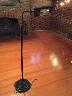 Classic Black Floor Lamp for Sale in Portland, OR
