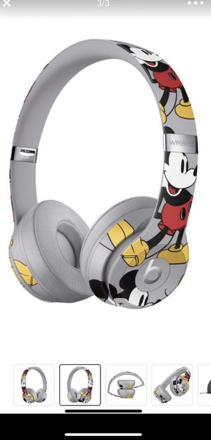 Beats Headset Mickey edition Brand New Solo3 wireless for Sale in Salt Lake City, UT