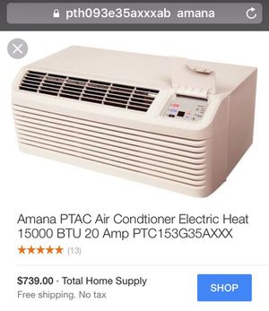Air conditioner electric heat for Sale in Cleveland, OH