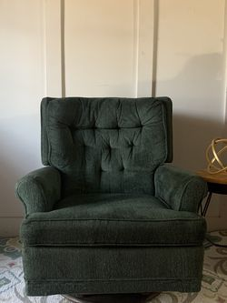 Teal/Green Mid Century Modern Rocking Chair $140 for Sale in Gold River,  CA