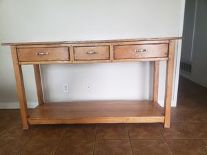 Console/Entry Way Table for Sale in HUNTINGTN BCH, CA