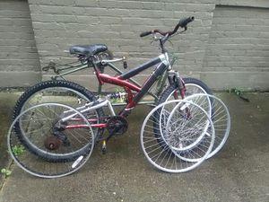 Two adult bike frames for Sale in Detroit, MI