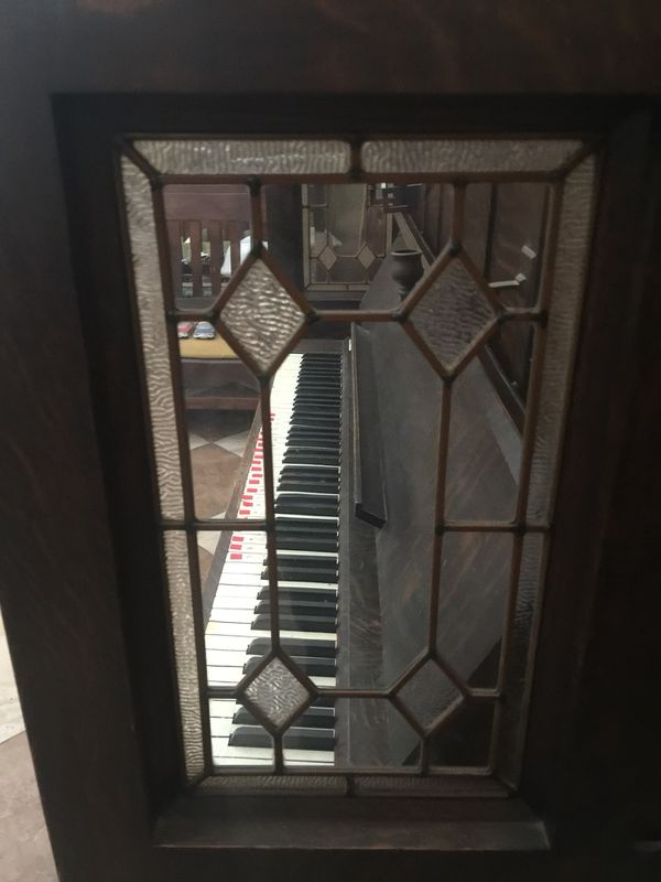 Vose & Sons 1904 craftsman styled piano.