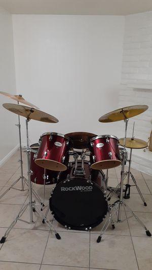 ROCKWOOD drums by HOHNER complete set for Sale in Las Vegas, NV