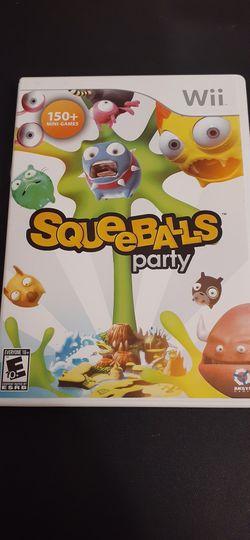 SQUEEBALLS Party (Nintendo Wii + Wii U) for Sale in Lewisville,  TX