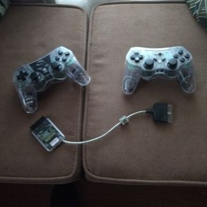 Ps2 Nyko Wireless Controllers+ Dongle for Sale in Tacoma, WA