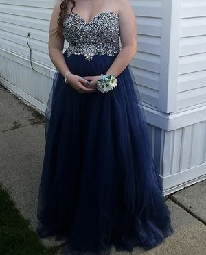 Blue prom dress for Sale in Huron Charter Township, MI