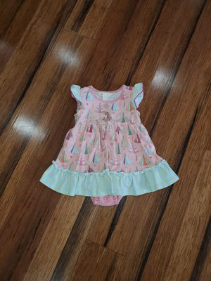 Matilda Jane happy camper skirted romper 12-18 months, good condition for Sale in Mount Pleasant, SC