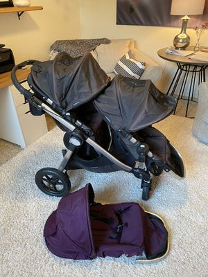 DOUBLE Baby Jogger City Select Stroller for Sale in Winchester, CA