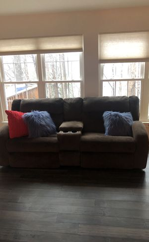 Double reclining Sofa for Sale in Gaithersburg, MD