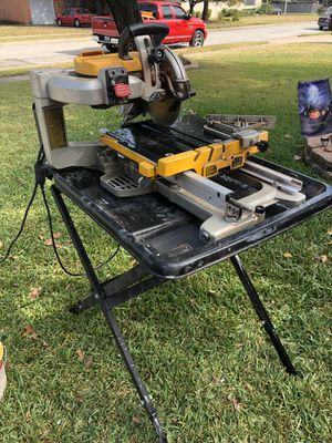 "DeWalt 10"" wet tile saw for Sale in Dallas, TX"