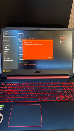 Gaming Laptop (Acer Nitro 5) for Sale in Chandler, AZ