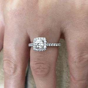 Tolkowsky Cushion Style Diamond Engagement Ring for Sale in Middletown, VA