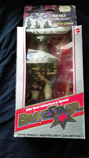 Tex hex vintage action figure bravestarr for Sale in Daly City, CA