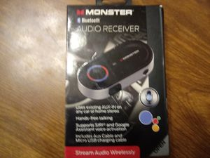 Monster Audio Reciever New for Sale in Murfreesboro, TN