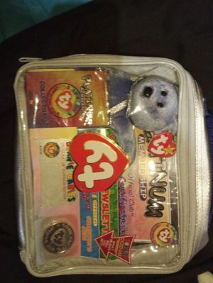 Ty beanie babies platinum membership container for Sale in West Peoria, IL