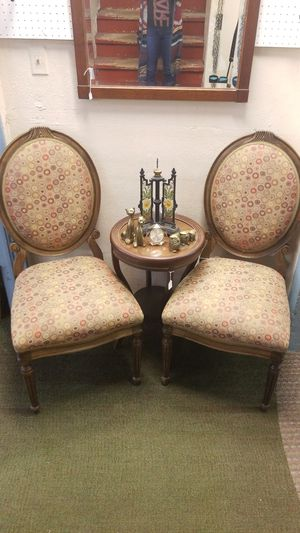 Pair of Antique Chairs Parlor Chairs Furniture for Sale in Englewood, CO
