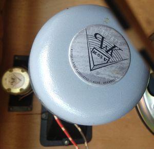 Klipsch K-55-V, K-700 driver horn pair, 16 ohm for Sale in Woodstock, VA