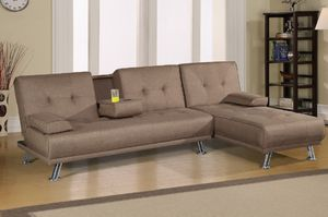 Sectional futon for Sale in Las Vegas, NV