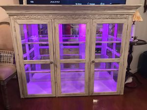 China Cabinet with LED Lights for Sale in Brambleton, VA
