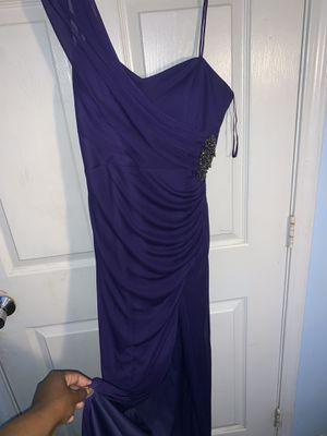 fancy Dress dark purple size 6 (NEW) for Sale in ROXBURY CROSSING, MA