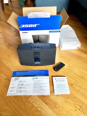 Bose Soundtouch 20 WiFi Speaker with Alexa for Sale in Chicago, IL
