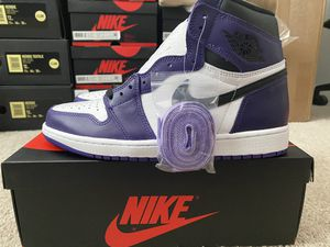 Jordan 1 Court Purple Sz 9.5 for Sale in Raleigh, NC