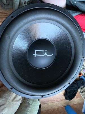 Fi sp4 15 d2 3500 rms sub subwoofer for Sale in Littleton, CO