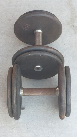 35lb Weight Pro-Style Dumbbells Pair for Sale in Las Vegas, NV