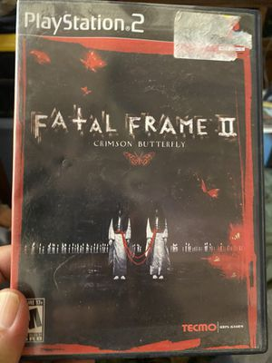 Fatal frame crimson butterfly ps2 60$ for Sale in Fresno, CA