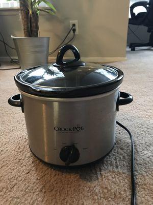 Crock pot SCR300-SS 3 quart manual slow cooker for Sale in Seattle, WA