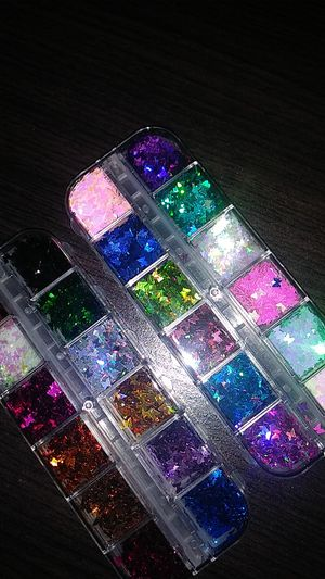 3d butterfly nail glitter sequin for Sale in Clovis, CA