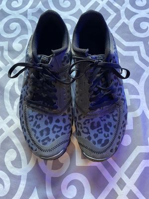Nike Free Grey Leopard Running Gym Sports Shoes Size 8.5 for Sale in Lake Forest, CA