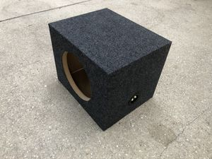 10 inch subwoofer box... BRAND NEW NEVER USED for Sale in Brandon, FL