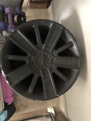 20 inch rims Chevrolet high country for Sale in Pflugerville, TX