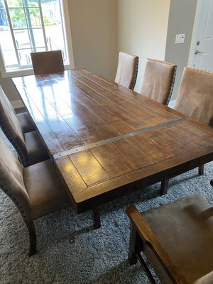Solid Wood Dining Room Set for Sale in Gig Harbor, WA