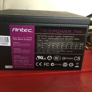 Antec Truepower 750 Power Supply PSU for Sale in Alhambra, CA