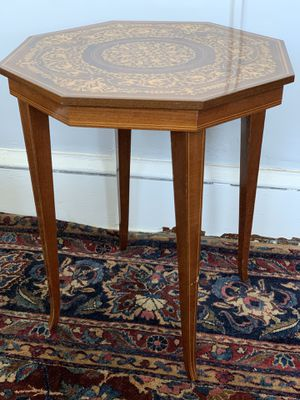 Antique inlay side table for Sale in Washington, DC